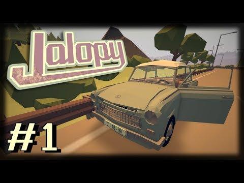 Jogando Jalopy - A Grande Jornada - Ep 1 - Novidades e Bugs!!