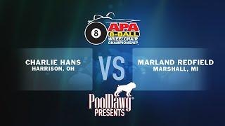 2018 APA Wheelchair Championship Finals - Charlie Hans VS Marland Redfield