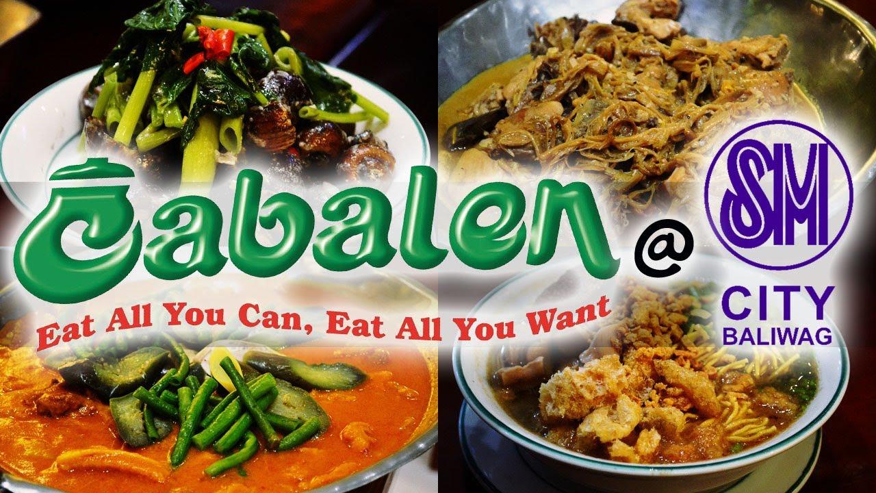 cabalen buffet sm city baliwag restaurants and cafe ranneveryday rh youtube com