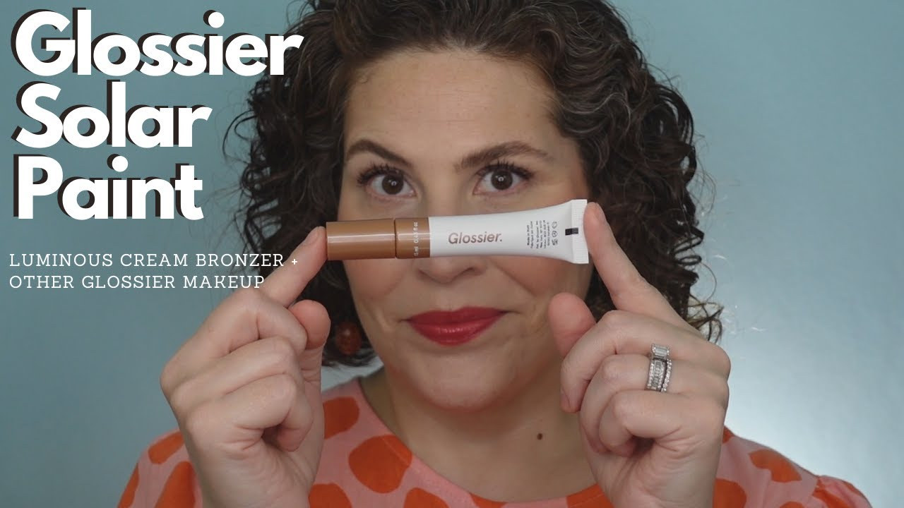 Glossier Solar Paint - New Luminous Cream Bronzer (Other Glossier Makeup Too!)