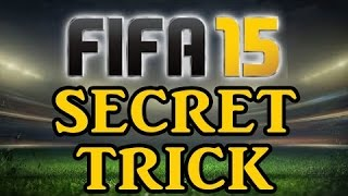 FIFA 15 SECRET TRICK - THE FIRST TOUCH BODYFEINT - BEST SKILLMOVE IN THE GAME FIRST TOUCH