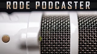 RØDE Podcaster USB Microphone Review / Test (is this USB mic podcast quality?)