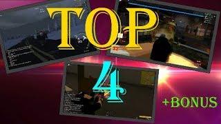 TOP 4 juegos de Zombies | Roblox