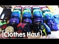 Polos, Jeans and Socks, Oh My! ║ Large Family Fall/Winter Clothes Haul │ 2017
