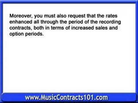Four Steps to Understanding Some Basic of Recording Contract