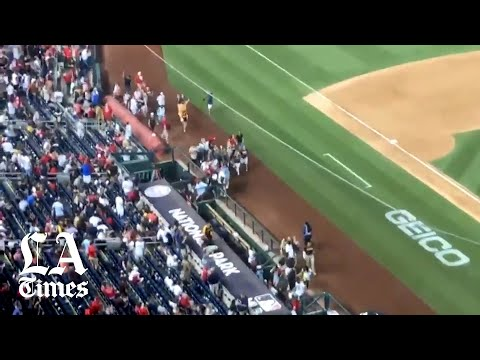 Download Raw video: Gunfire outside Nationals Park in D.C.