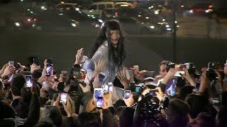 Sexy singer Rihanna giving her fans the Time of their Life during video shoot! Angle 1