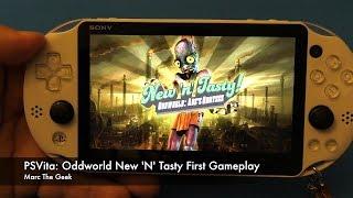 PSVita Oddworld: New