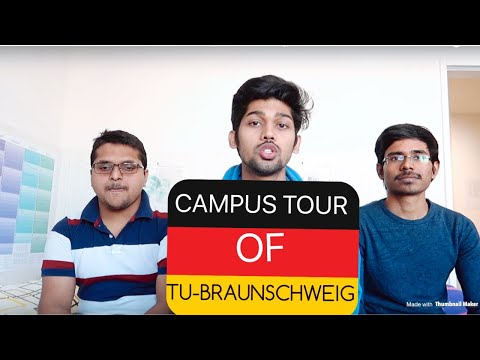 A DAY TRIP TO TU-BRAUNSCHWEIG, GERMANY