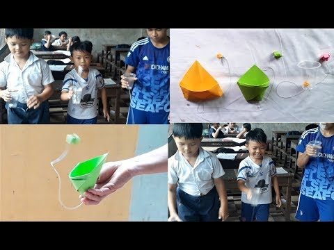DIY PAPER | How to make fun basketball for kids.