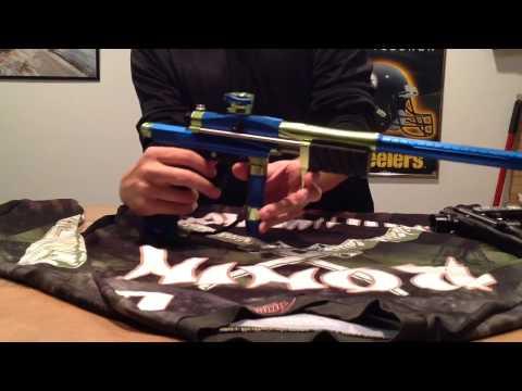Azodin KP3 Hitman Plate Paintball Review