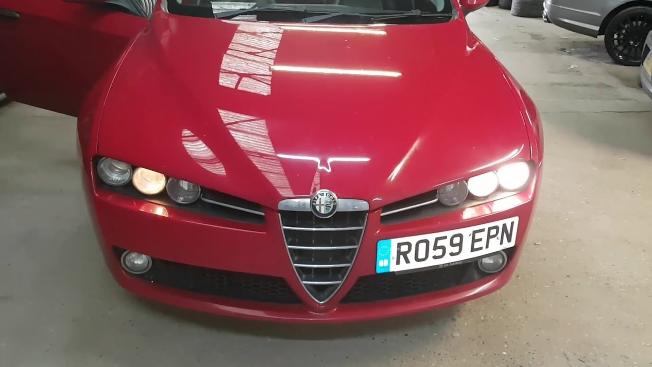 How To Replace Headlight Bulb On Alfa Romeo 159 Youtube Rear End Premium