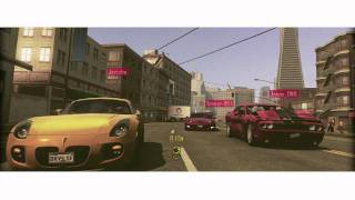 Driver San Francisco - Multiplayer and Single-player demo trailer [FR]