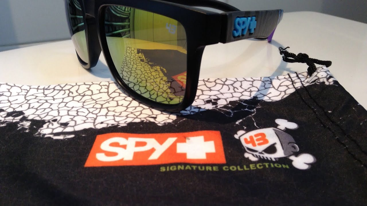 5d38aa5afaa65 Ken Block Spy Sunglasses Review - YouTube