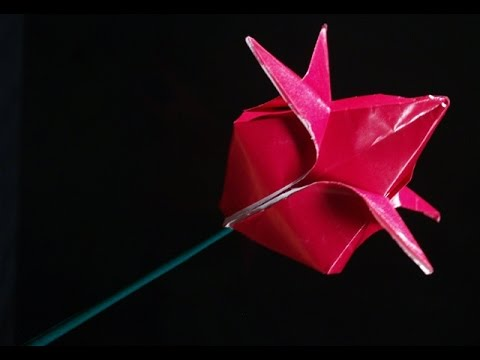 Paper Hyacinth Tutorial Video | Manualidades, Origami flores ... | 360x480