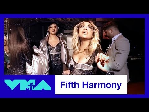 BTS of Fifth Harmony ft. Gucci Mane 360° Performance Of 'Down' & 'Angel' Medley | 2017 VMAs | MTV