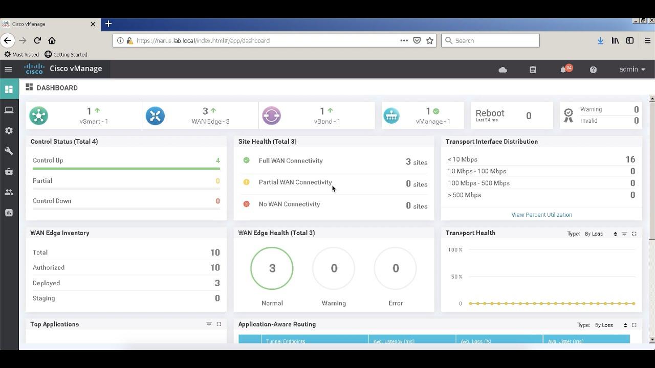 Cisco IOS XE SDWAN router bring up - Manual