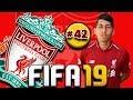 FIFA 19: LIVERPOOL CAREER MODE [#42] Dembélé HAT TRICK ⚽⚽⚽