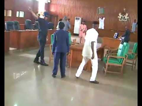 Chaos in Togo  Parliament
