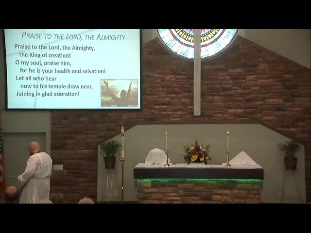 10/10/2021 Worship Service