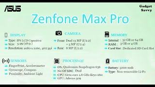 ASUS Zenfone Max Pro M1 || Full Review || Gadget Savy
