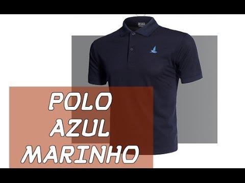 UNBOXING #6 - CAMISA POLO AZUL MARINHO - LUCKY SAILING