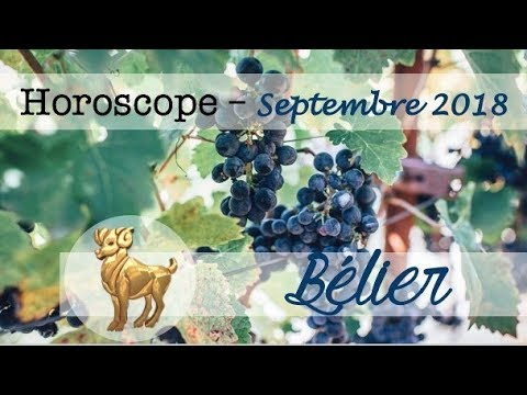 TAROSCOPE/HOROSCOPE - ♈BELIER☘️ / Septembre 2018