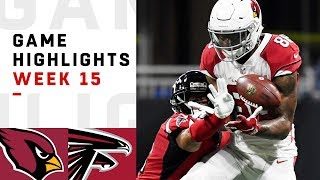 Cardinals vs. Falcons Week 15 Highlights | NFL 2018