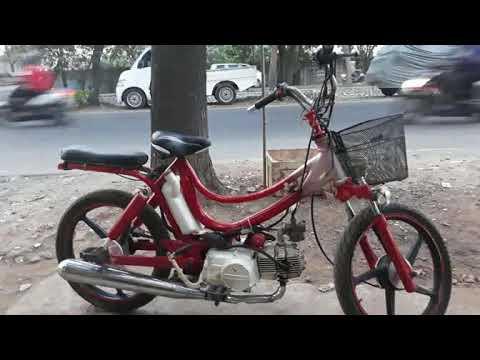 Modif Honda Grand Jadi Sepeda Mini Youtube