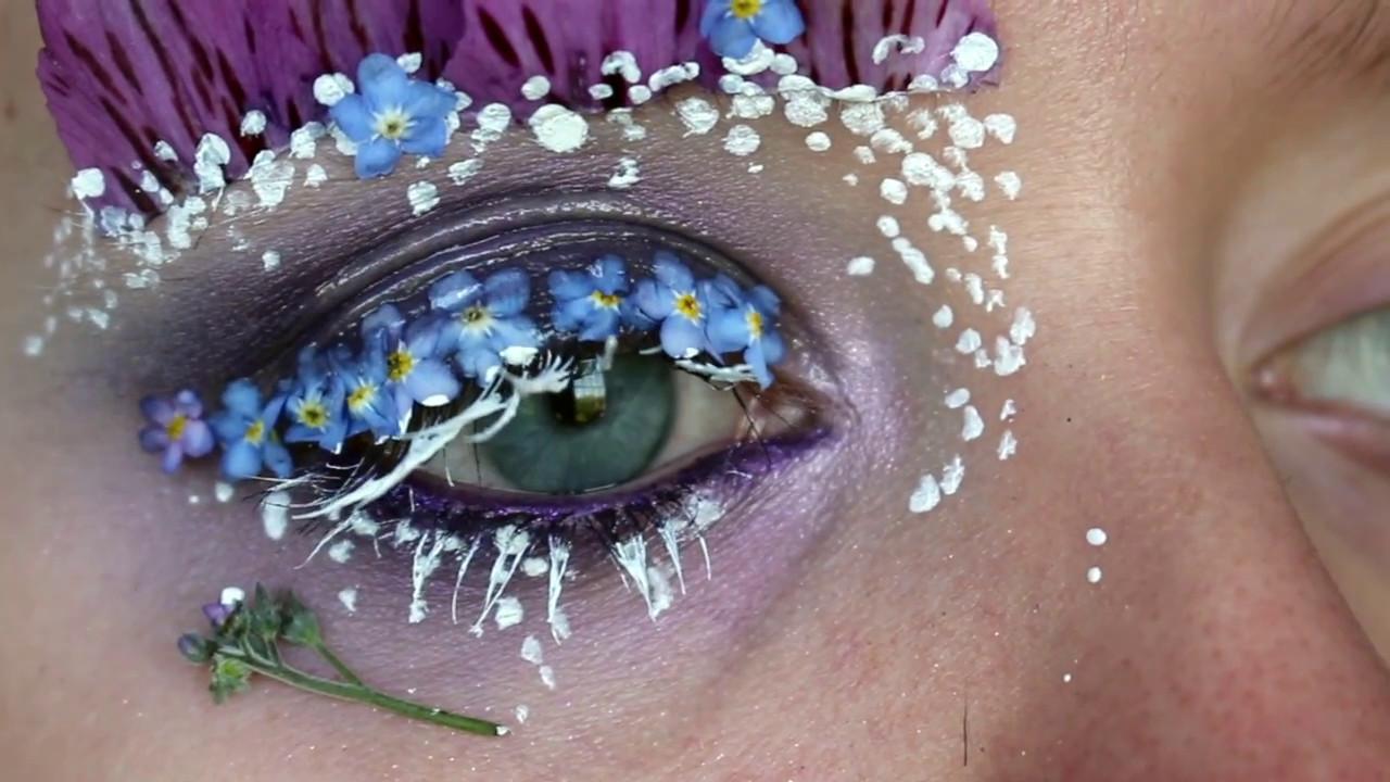 Flower Eye Makeup Youtube
