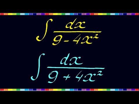 Решение неопределенных интегралов примеры