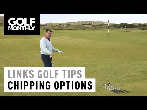 Links Golf Masterclass - Chipping Options