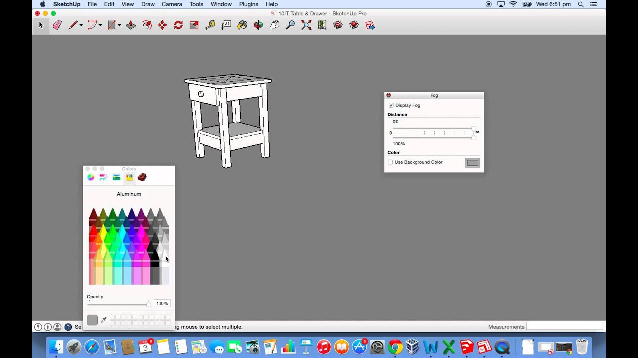 How To Remove Axes Background Colour In SketchUp