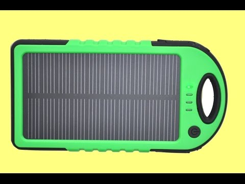 "Inside a solar USB power bank with ""short circuit"" feature."