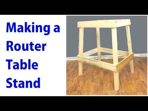 Make a Router Table Stand - woodworkweb from YouTube · Duration:  12 minutes 38 seconds
