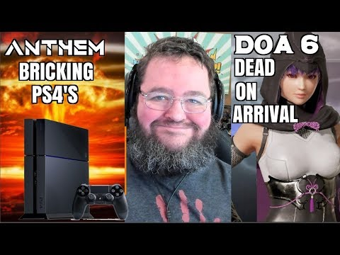 Anthem Bricking Consoles. THQ AMA Disaster. Doa 6 Dead On Arrival.