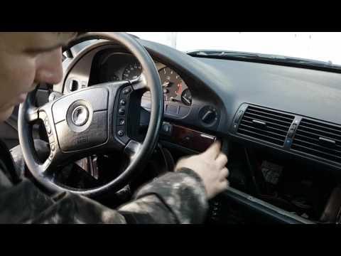 BMW E39 | Замена штатной мултимедийной головы.