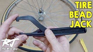bicycle tool install/& Removal Clamp for Difficult Bike Tire Bead Jack Lever Tool