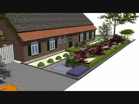 Bart faassen hoveniers 3d tuin ontwerp youtube for 3d tuin ontwerpen