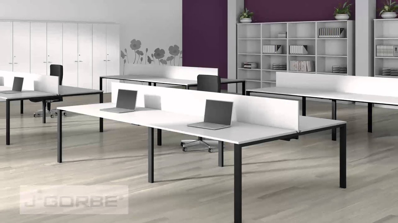 J gorbe muebles de oficina bench 2013 youtube for Muebles de oficina 3d max