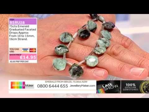 Luxury Pyriteson The Late Show with Ed McKay (JewelleryMaker) LIVE 19/10/2014