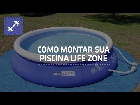 Como Montar Sua Piscina Life Zone | Shoptime