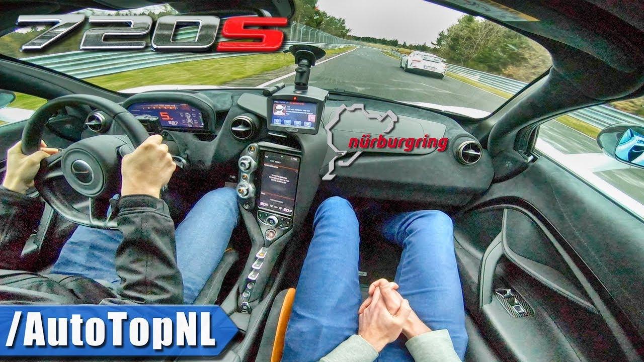 McLaren 720S Nurburgring
