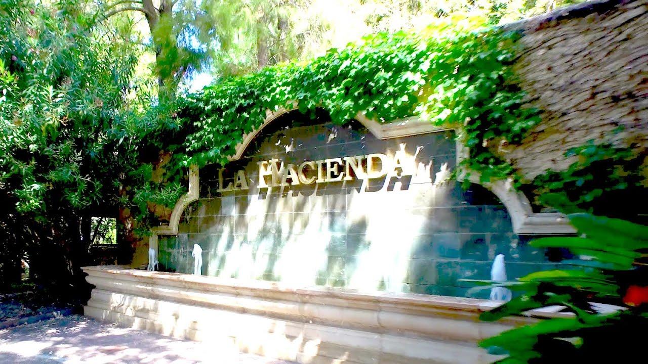 Jardines la hacienda youtube for Jardines la hacienda el puig