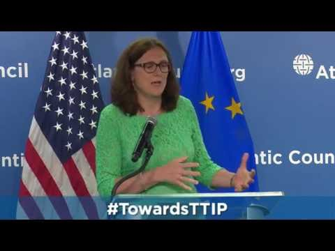 Talking TTIP with European Trade Commissioner Cecilia Malmström