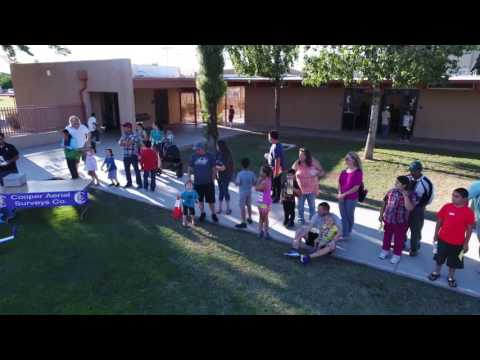 Drone Demo at Constitution Elementary School
