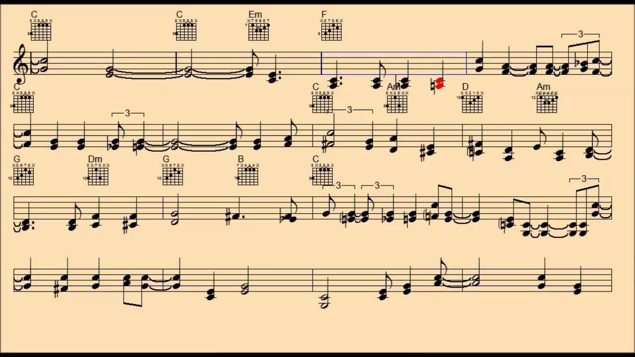 ROOM FULL OF ROSES Chords - Jim Reeves | E-Chords