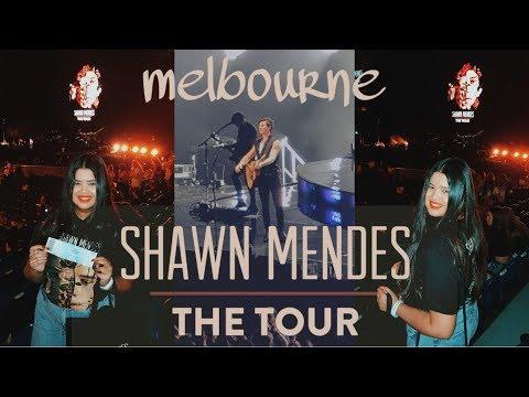 Shawn Mendes The Tour Melbourne Vlog