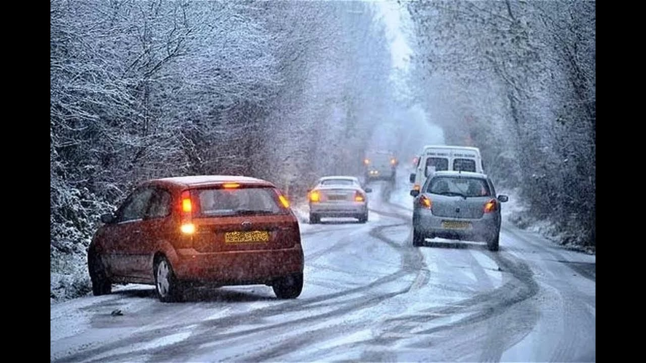 Вождение автомобиля в сложных погодных условиях