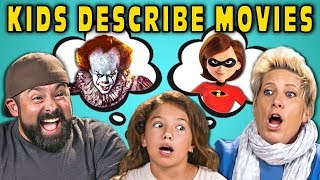 Download Can Parents Guess Movies Described By Kids? #4 (React) Mp3 and Videos